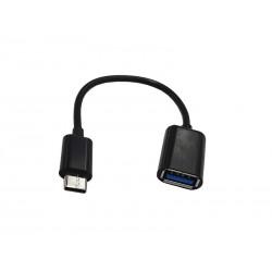 Cablu usb mama - tip C tata 20cm