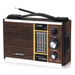 Radio portabil cu 11 benzi.