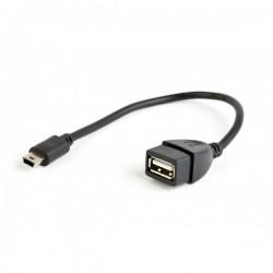 Cablu OTG usb mama - mini usb tata