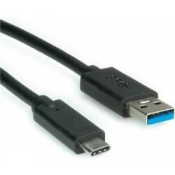 Cablu microusb flexibil USB Tip C - incarcare rapida