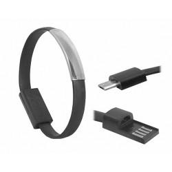 Cablu microusb bratara 0.2m