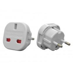 Adaptor stecher UK/USA/RO Alb