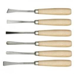 Set 6 dalti pt. modelare/scluptura in lemn